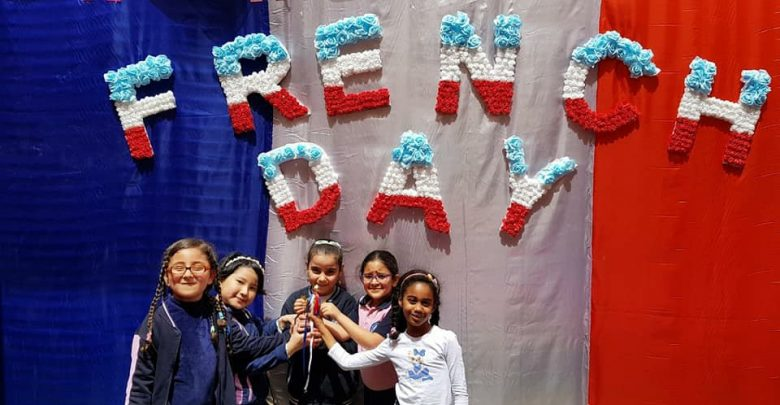 "French week competition ""Grade 1 adv girls"" – Reema international"